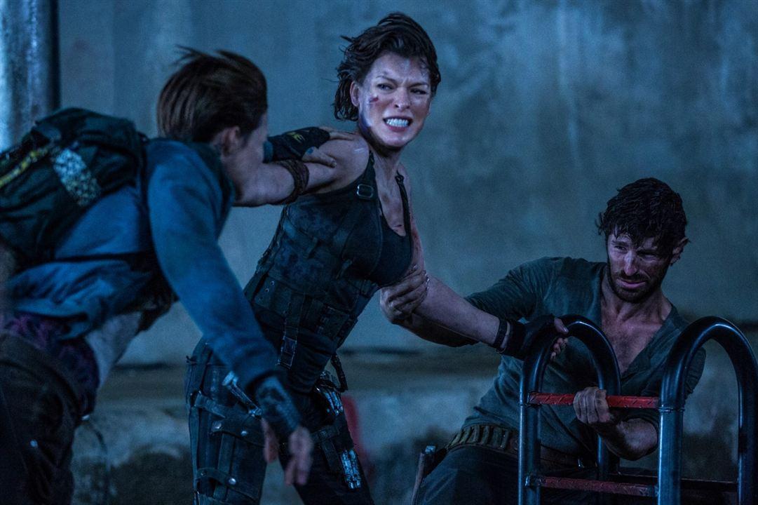 Resident Evil : Chapitre Final : Photo Eoin Macken, Milla Jovovich, Ruby Rose