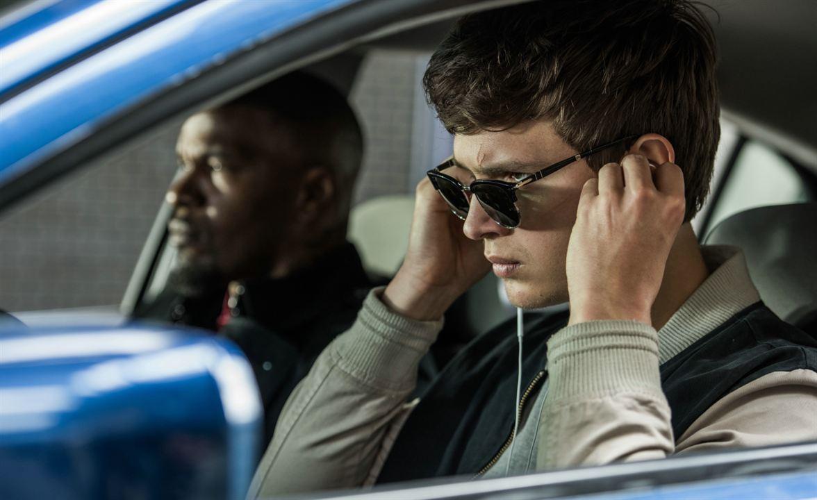 Baby Driver : Photo Ansel Elgort, Jamie Foxx