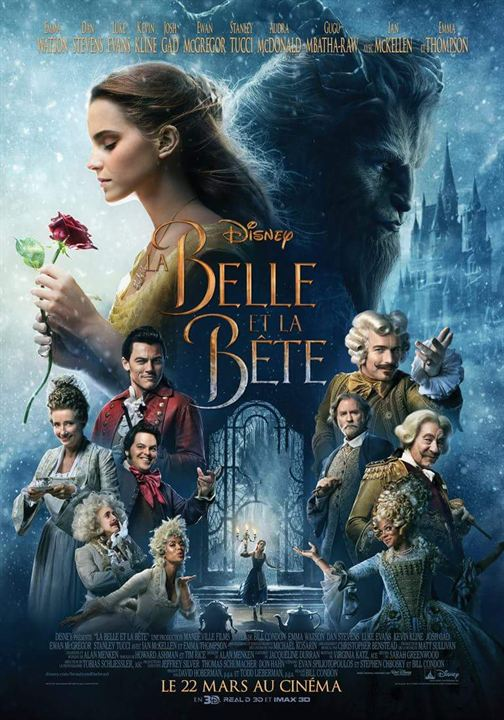 affiche du film la belle et la b te affiche 25 sur 27 allocin. Black Bedroom Furniture Sets. Home Design Ideas
