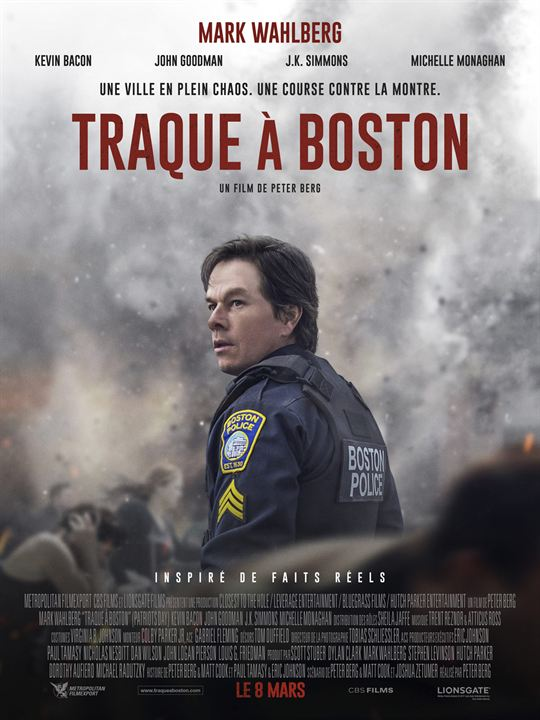 Traque à Boston : Affiche