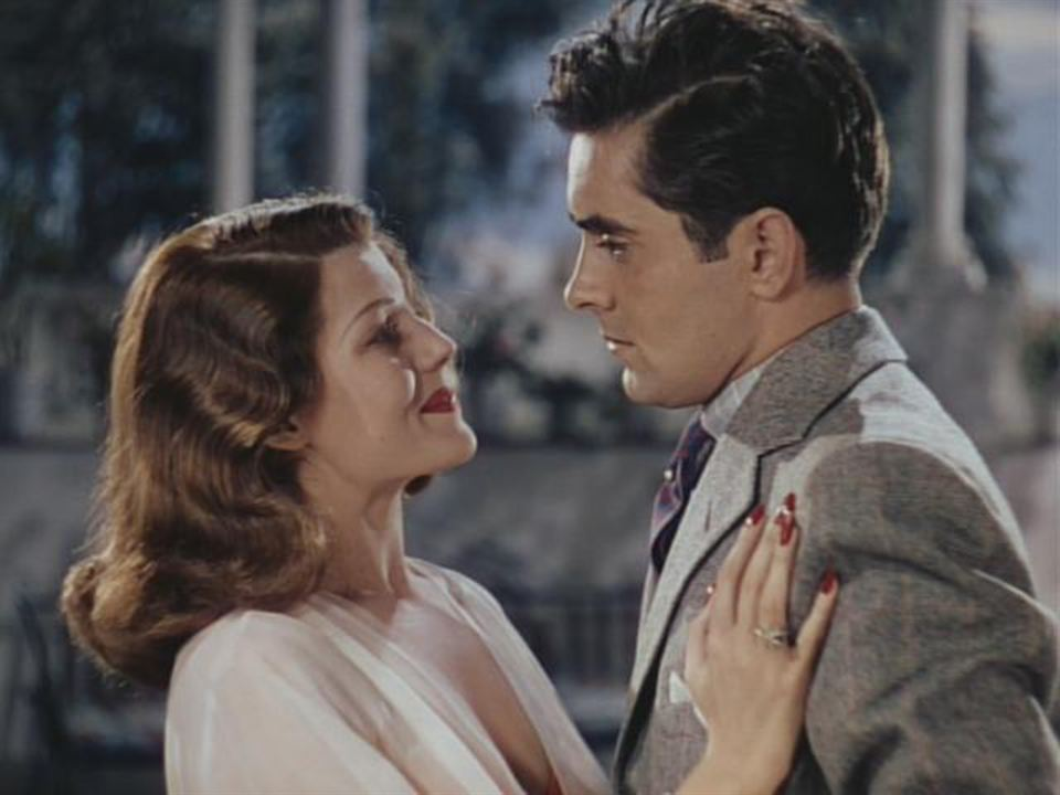 Arènes sanglantes : Photo Rita Hayworth, Tyrone Power