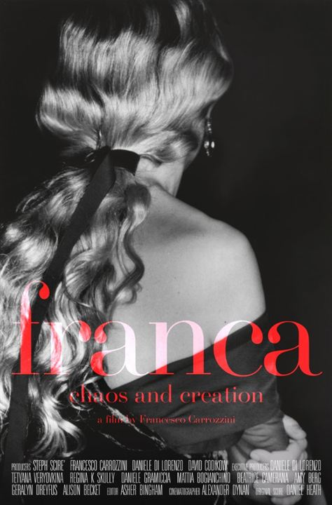 Franca: Chaos and Creation : Affiche