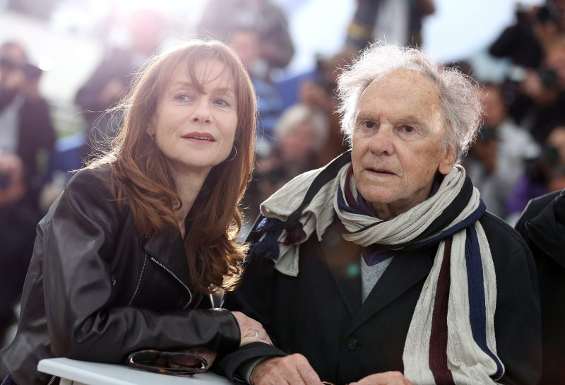 Amour : Photo promotionnelle Isabelle Huppert, Jean-Louis Trintignant