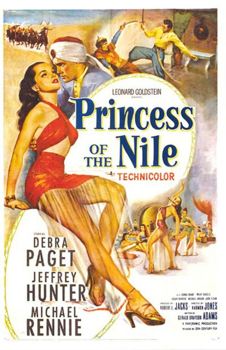 Princess of the Nile : Affiche