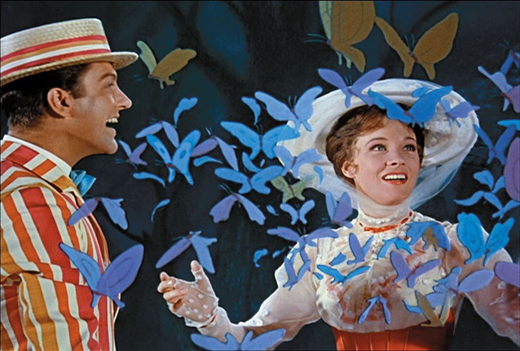 Mary Poppins : Photo Dick Van Dyke, Julie Andrews