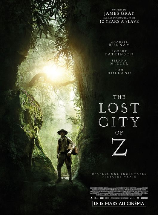 The Lost City of Z : Affiche
