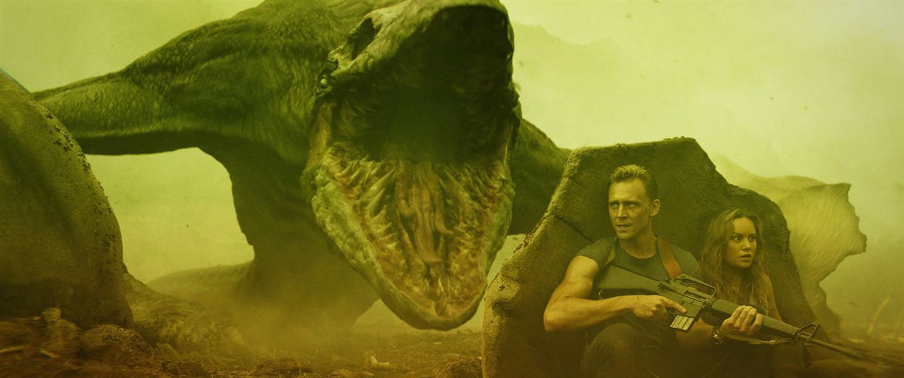 Kong: Skull Island : Photo Brie Larson, Tom Hiddleston