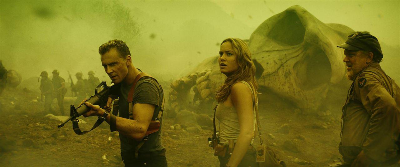 Kong: Skull Island : Photo Brie Larson, John C. Reilly, Tom Hiddleston