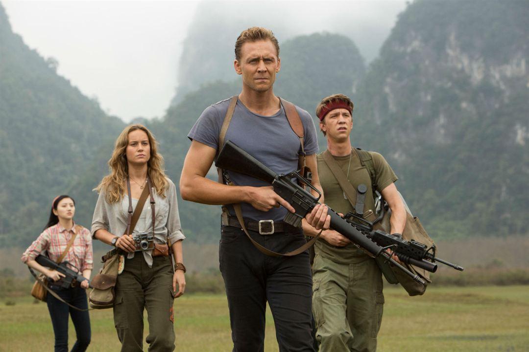 Kong: Skull Island : Photo Brie Larson, Jing Tian, Thomas Mann (II), Tom Hiddleston