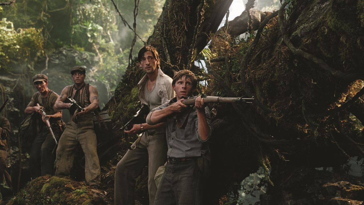 King Kong : Photo Adrien Brody, Jamie Bell