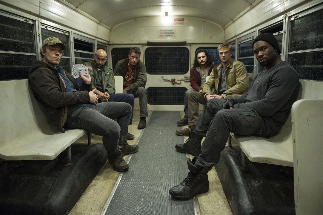 The Predator : Photo Alfie Allen, Augusto Aguilera, Boyd Holbrook, Keegan-Michael Key, Thomas Jane