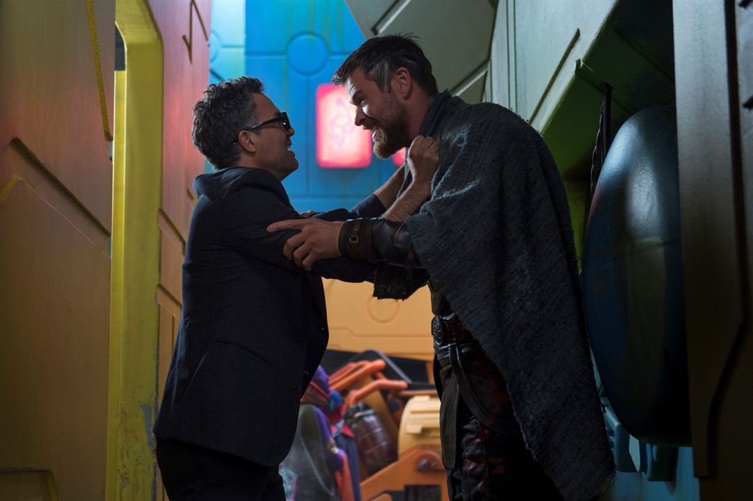 Thor : Ragnarok : Photo Chris Hemsworth, Mark Ruffalo