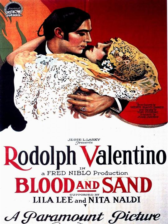Blood and sand : Affiche