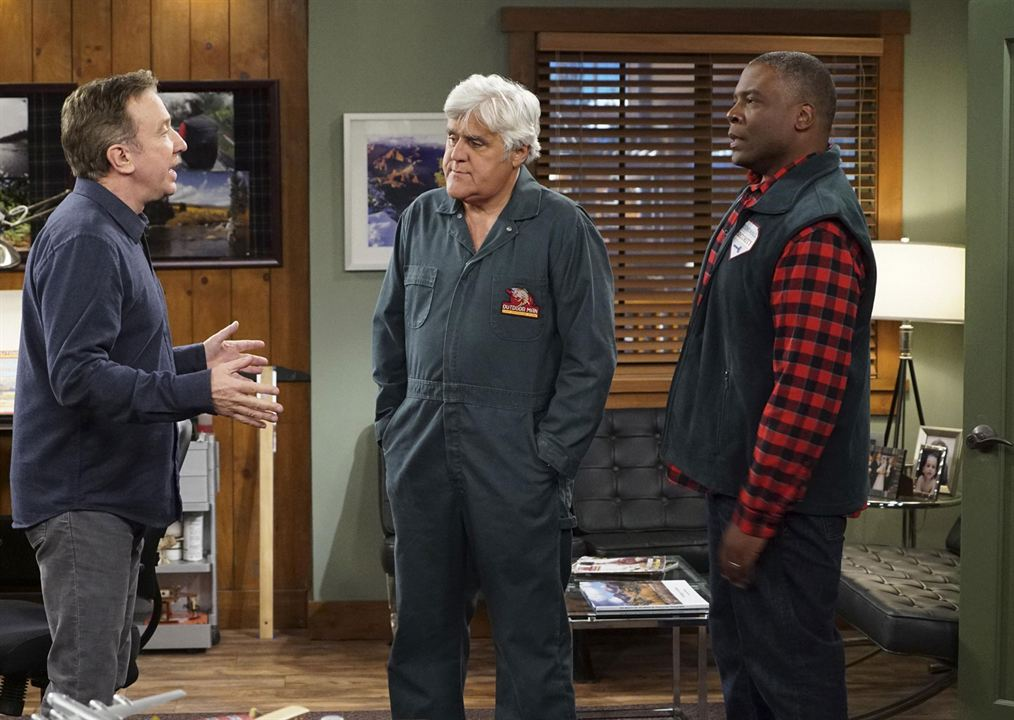 Photo Jay Leno, Jonathan Adams, Molly Ephraim