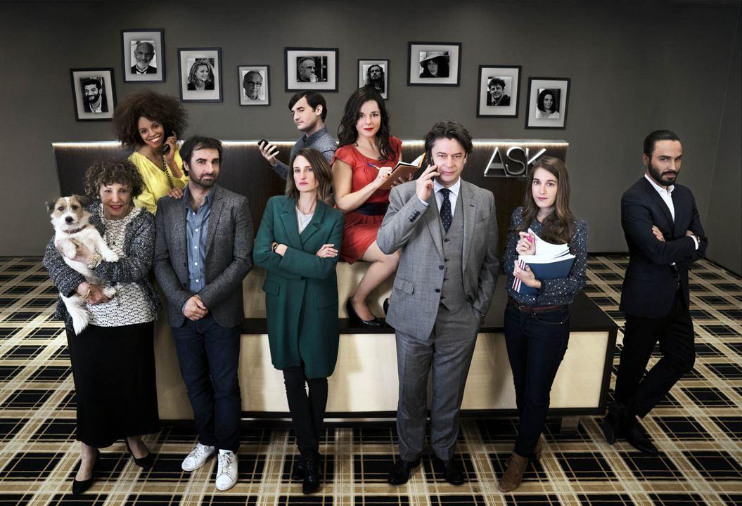 Photo Assaad Bouab, Camille Cottin, Fanny Sidney, Grégory Montel, Laure Calamy