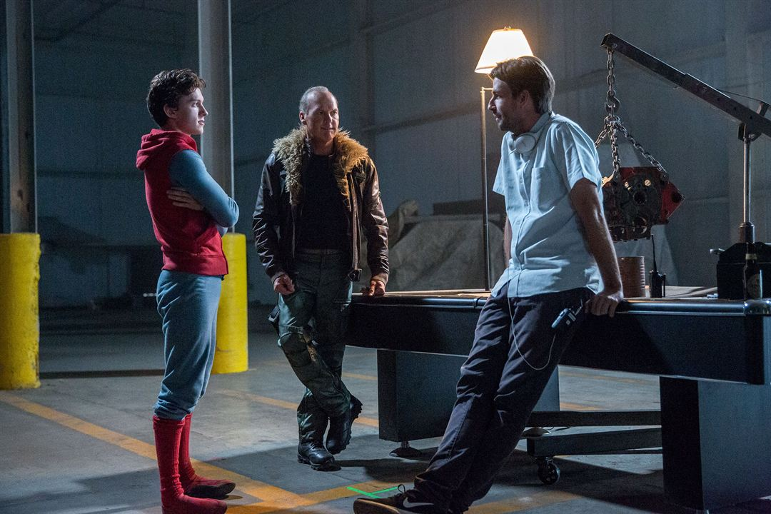 Spider-Man: Homecoming : Photo Jon Watts, Michael Keaton, Tom Holland