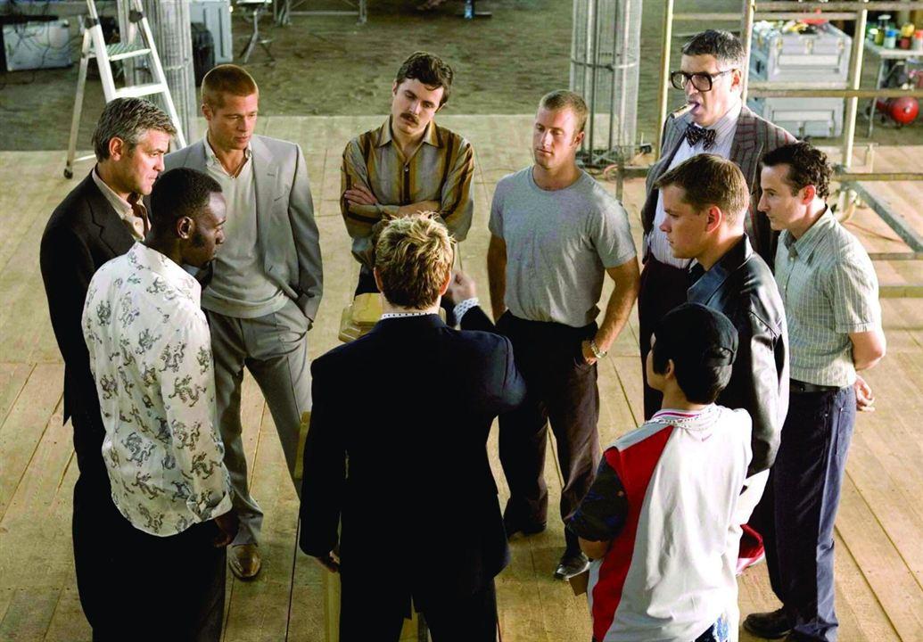 Ocean's Twelve : Photo Brad Pitt, Casey Affleck, Don Cheadle, Elliott Gould, George Clooney