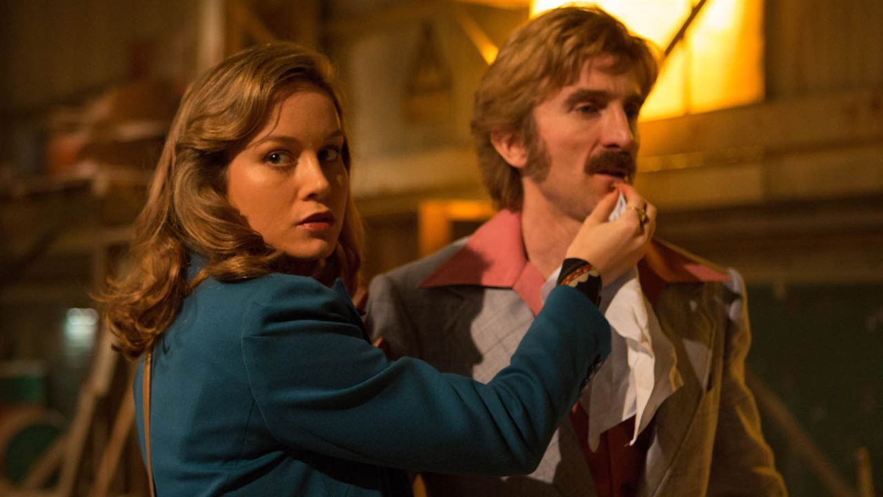 Free Fire : Photo Brie Larson, Sharlto Copley