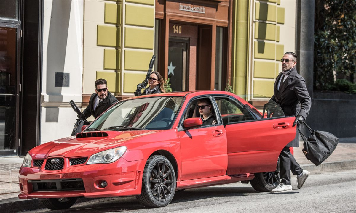 Baby Driver : Photo Ansel Elgort, Eiza Gonzalez, Jon Bernthal, Jon Hamm