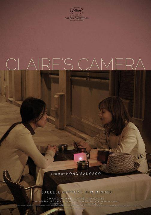 La Caméra de Claire : Affiche