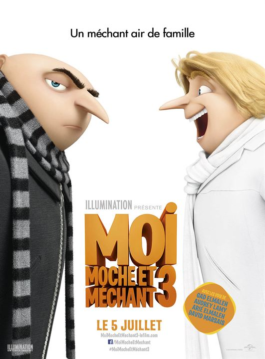 Moi, Moche et Méchant 3 : Affiche