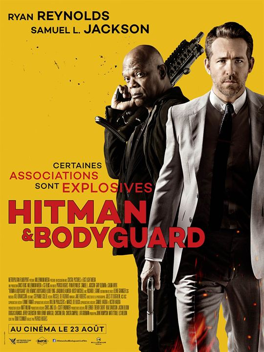 affiche du film hitman bodyguard affiche 5 sur 9 allocin. Black Bedroom Furniture Sets. Home Design Ideas