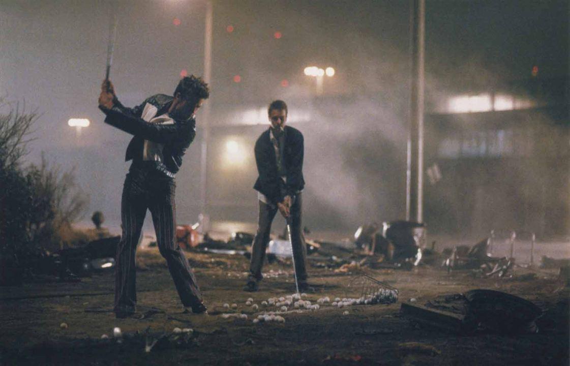 Fight Club : Photo Brad Pitt, Edward Norton