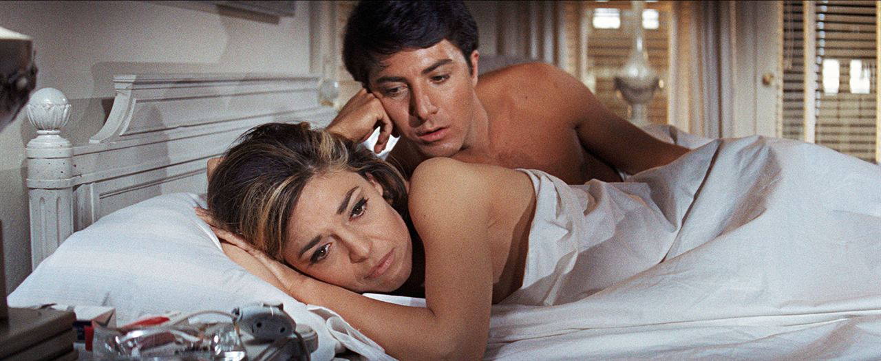Le Lauréat : Photo Dustin Hoffman, Katharine Ross