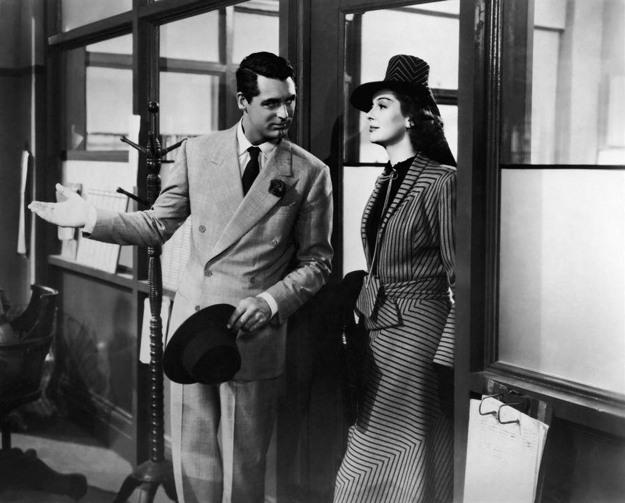 La Dame du vendredi : Photo Cary Grant, Rosalind Russell