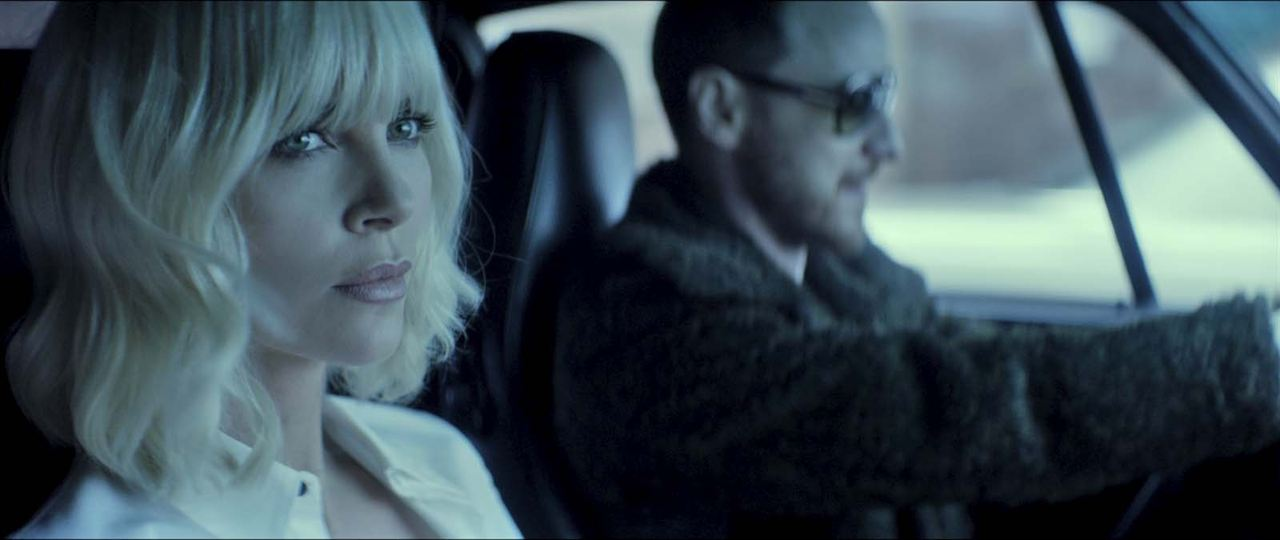 Atomic Blonde : Photo Charlize Theron, James McAvoy