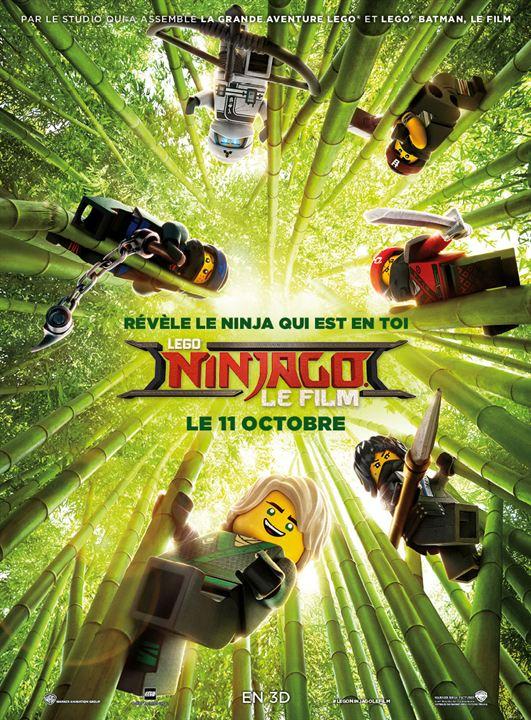 LEGO Ninjago : Le Film : Affiche