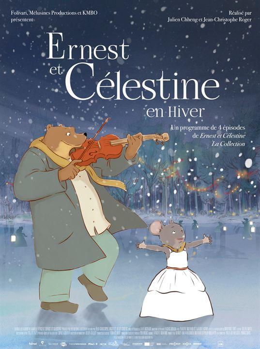 Ernest et Célestine en hiver : Affiche
