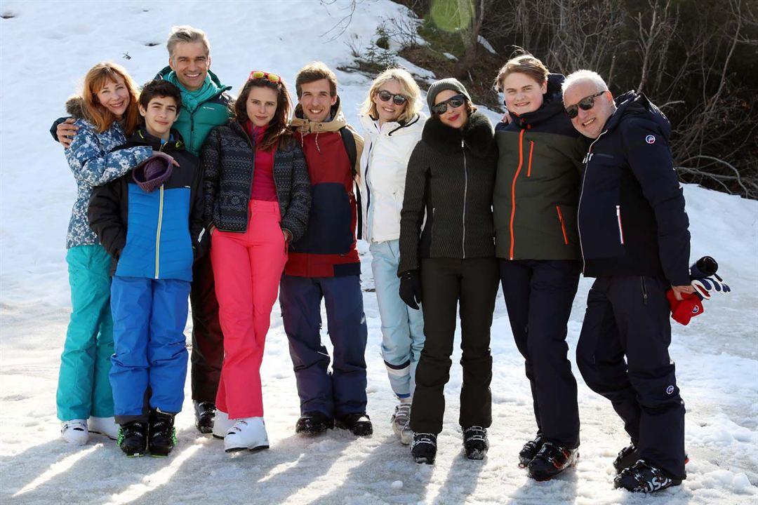 Photo Charlie Joirkin, Edouard Court, François Berléand, Francois Vincentelli, Isabelle Gélinas