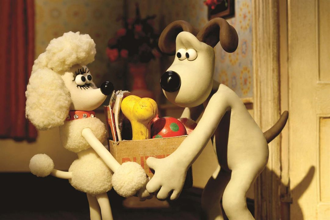 Wallace & Gromit : Cœurs à modeler : Photo