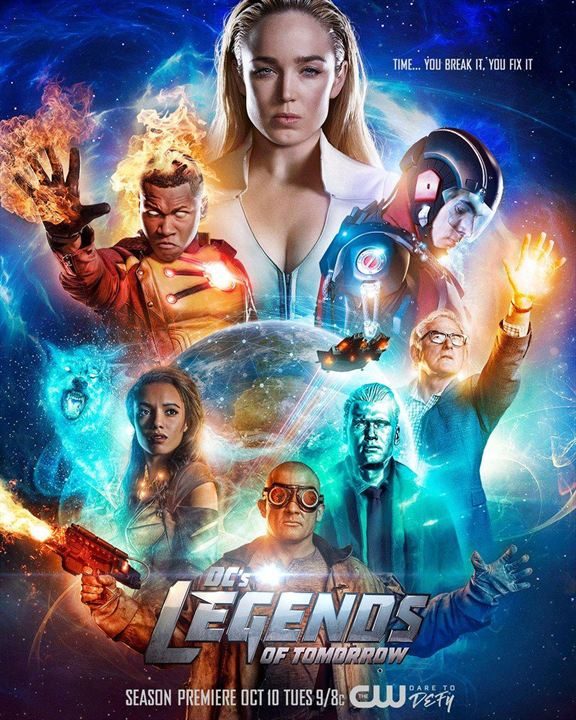 Affiche Brandon Routh, Dominic Purcell, Franz Drameh, Maisie Richardson-Sellers, Nick Zano
