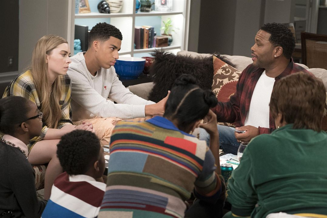 Photo Annelise Grace, Anthony Anderson, Marcus Scribner