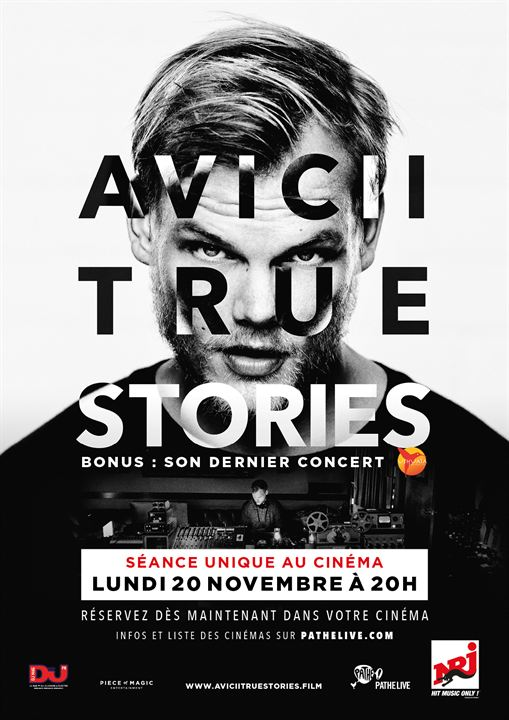 Avicii: True Stories : Affiche
