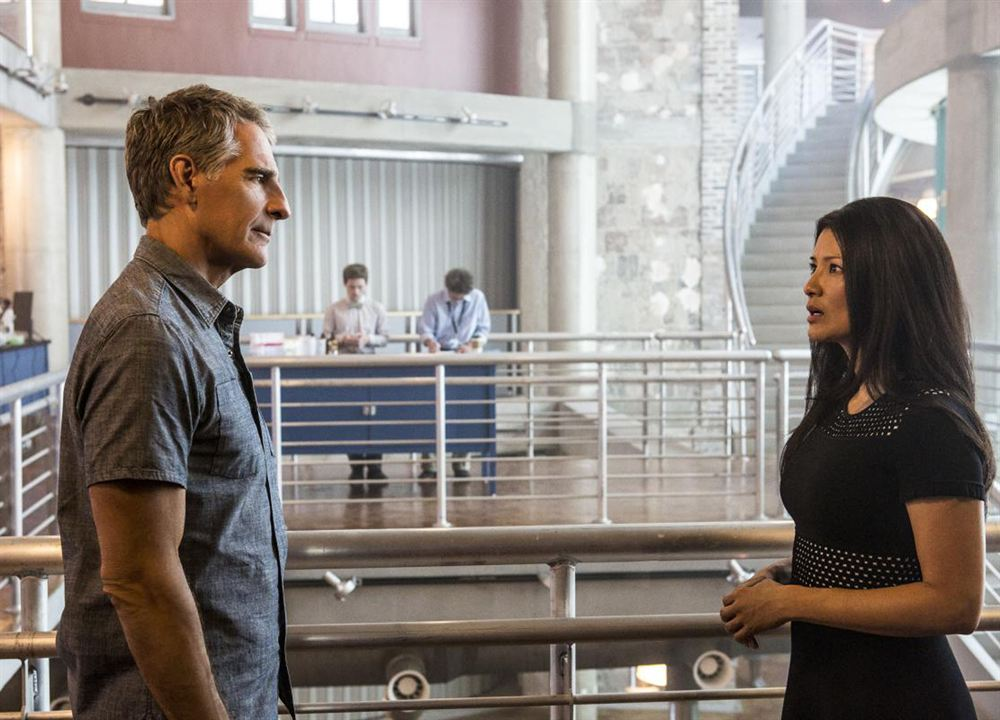 Photo Kelly Hu, Scott Bakula
