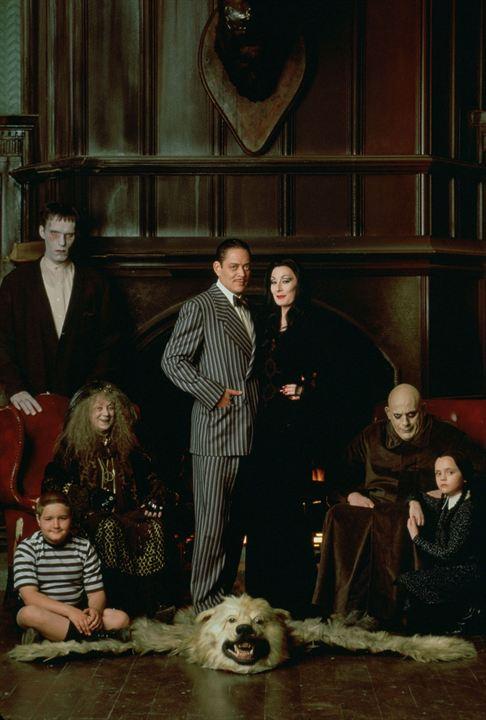 La Famille Addams : Photo Anjelica Huston, Carel Struycken, Christina Ricci, Christopher Lloyd, Jimmy Workman
