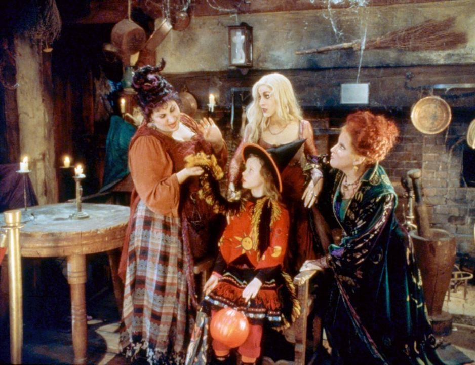 Hocus Pocus : Les trois sorcières : Photo Bette Midler, Kathy Najimy, Sarah Jessica Parker, Thora Birch
