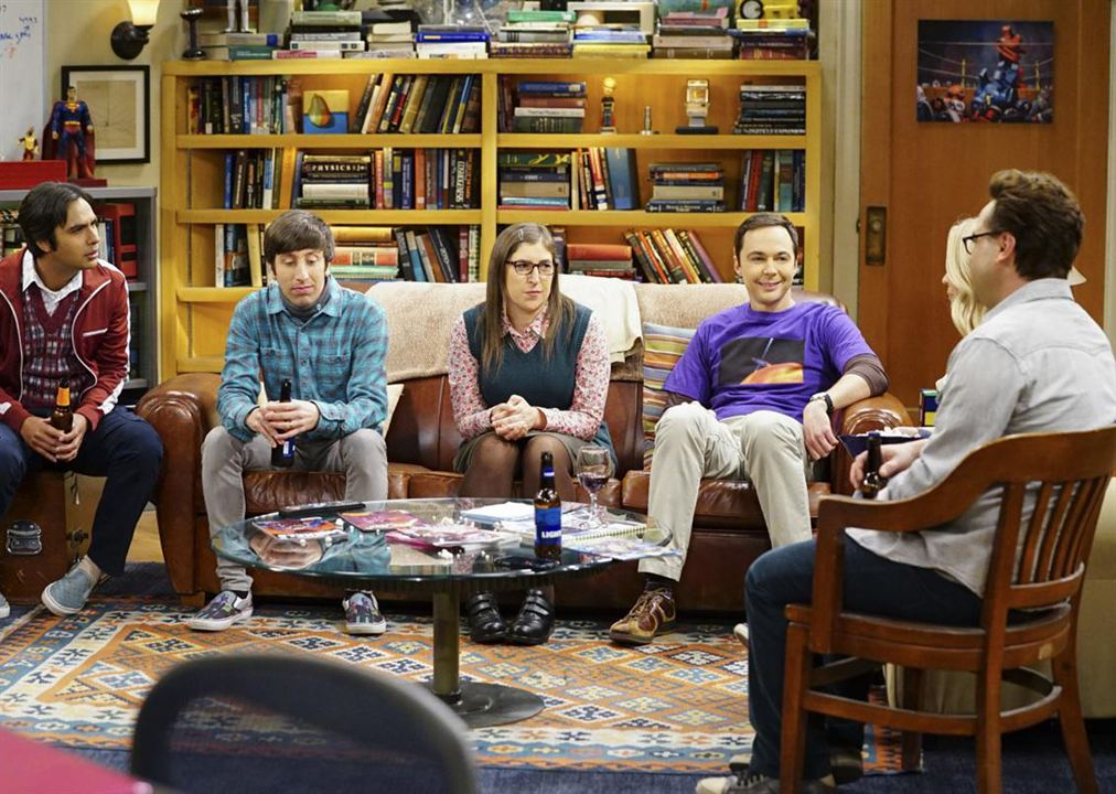 Photo Jim Parsons, Johnny Galecki, Kunal Nayyar, Mayim Bialik, Simon Helberg