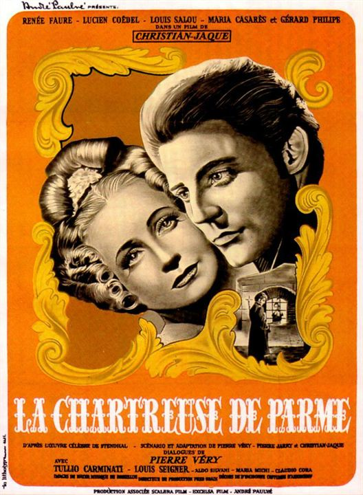 La Chartreuse de Parme : Affiche