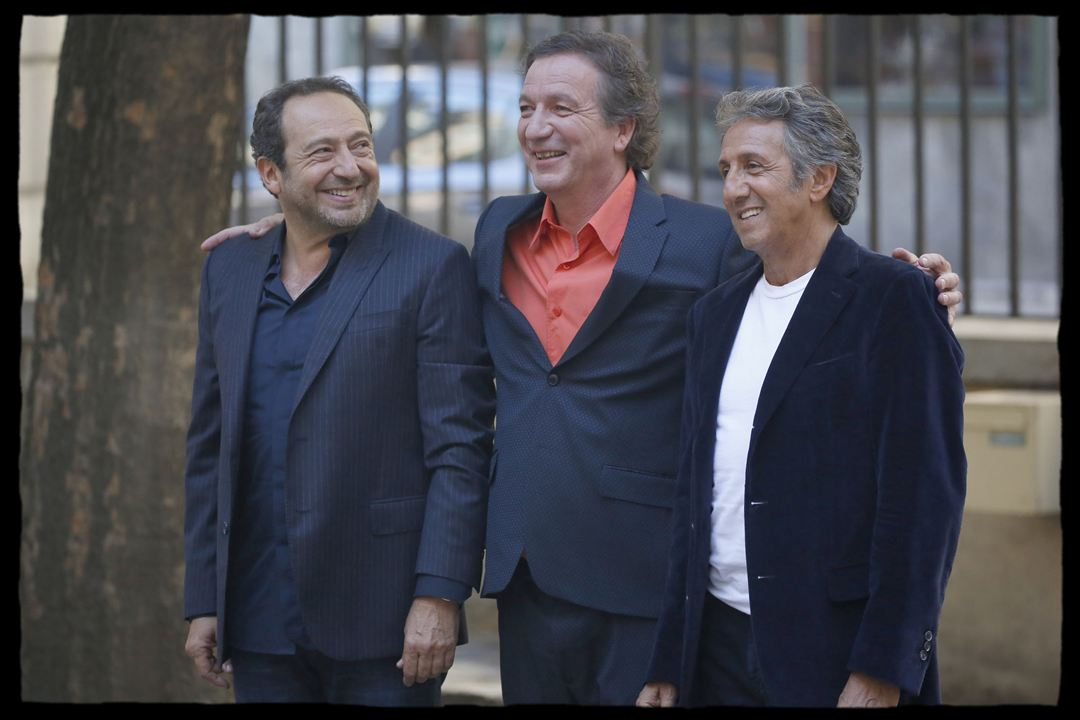 Stars 80, la suite : Photo Bruno Lochet, Patrick Timsit, Richard Anconina