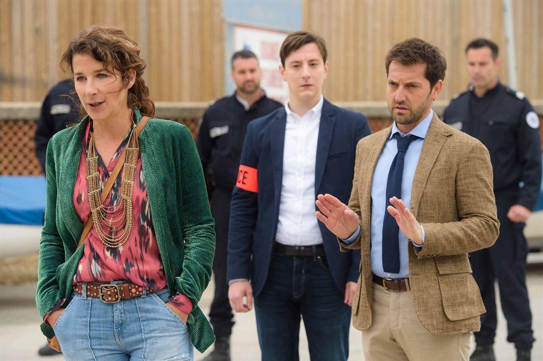 Photo Arthur Mazet, Frédéric Diefenthal, Isabelle Gélinas