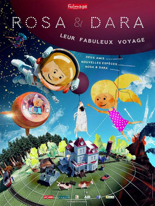 Rosa & Dara : leur fabuleux voyage : Affiche