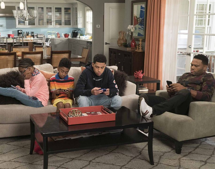 Photo Anthony Anderson, Marcus Scribner, Marsai Martin, Miles Brown