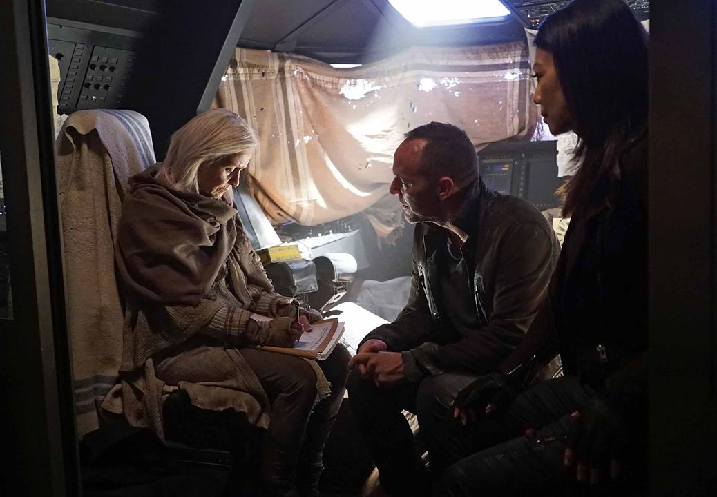 Photo Clark Gregg, Ming-Na Wen, Willow Hale
