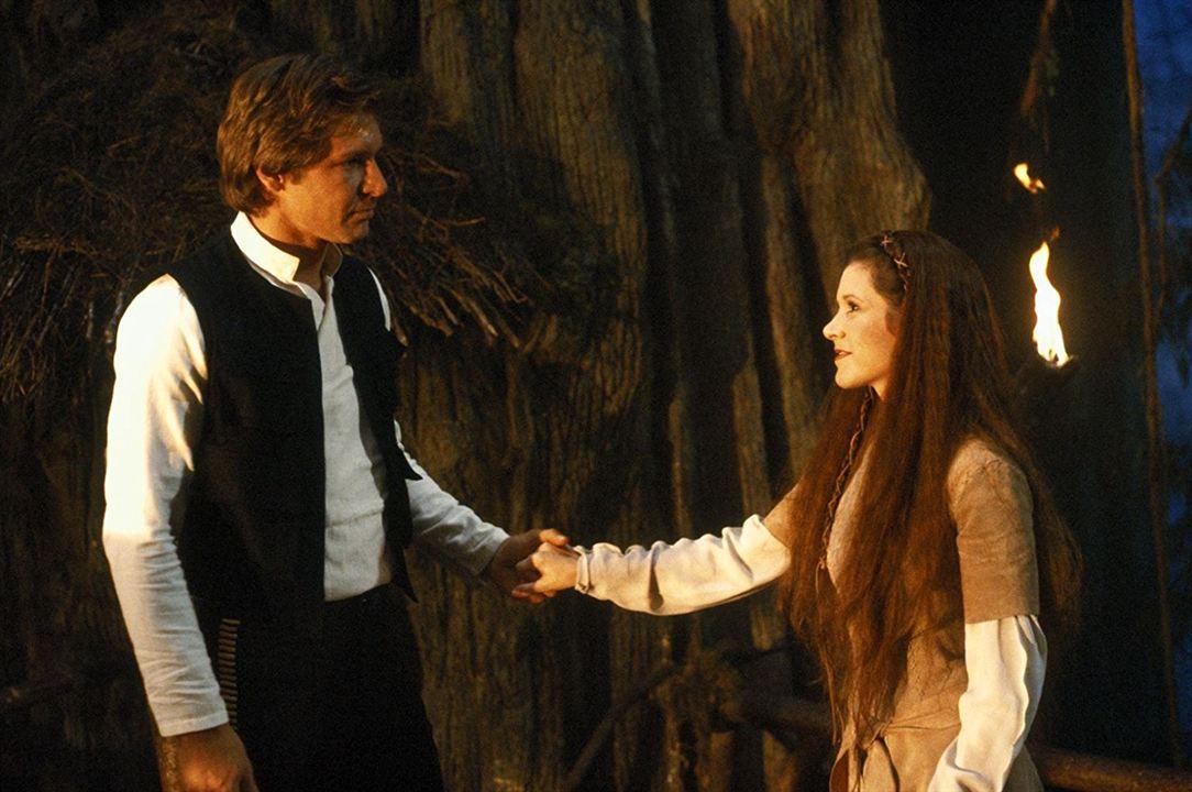 Star Wars : Episode VI - Le Retour du Jedi : Photo Carrie Fisher, Harrison Ford