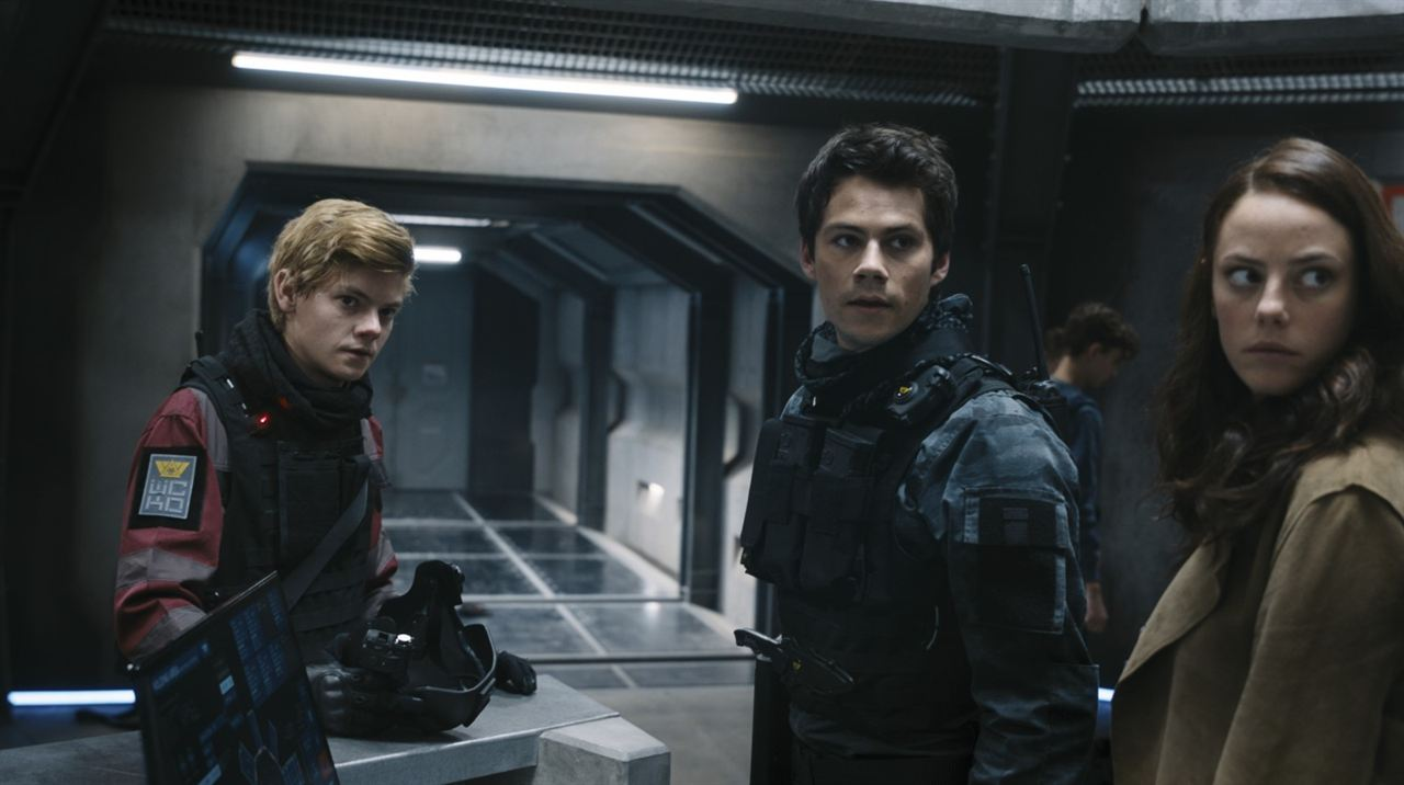 Le Labyrinthe : le remède mortel : Photo Dylan O'Brien, Kaya Scodelario, Thomas Brodie-Sangster