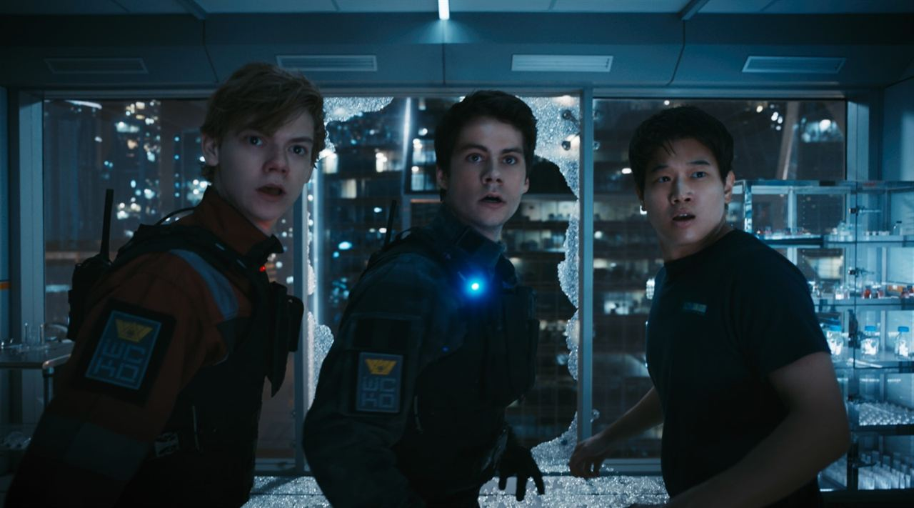 Le Labyrinthe : le remède mortel : Photo Dylan O'Brien, Ki Hong Lee, Thomas Brodie-Sangster